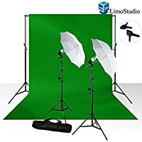 LimoStudio 10 x 12 Photo Chroma key Chroma Key Green Screen Muslin Background Backdrop