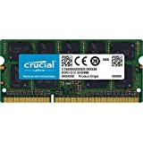 Crucial 8GB Single DDR3 1333 MT/s (PC3-10600) CL9 204-Pin 1.35V/1.5V SODIMM Memory For Mac CT8G3S1339M