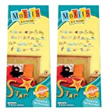 Motifs In A Minute Peel and Stick Wall Decor Appliqués Alphabet Buddies (2 PACK)