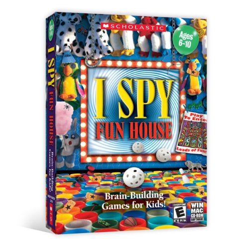 Scholastic I Spy Fun House [Old Version] (Old Computer Games)