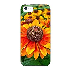 Top Quality Case Cover For Iphone 5c Case With Nice Gaillardia Appearance