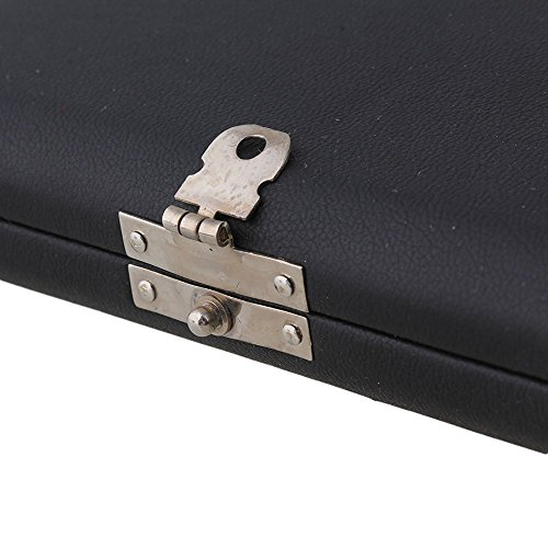 Surfing Clarinet Saxophone Reed Case for 6 Reeds Woodwind Accessories Internal Glass Pane Black by Surfing (Image #4)