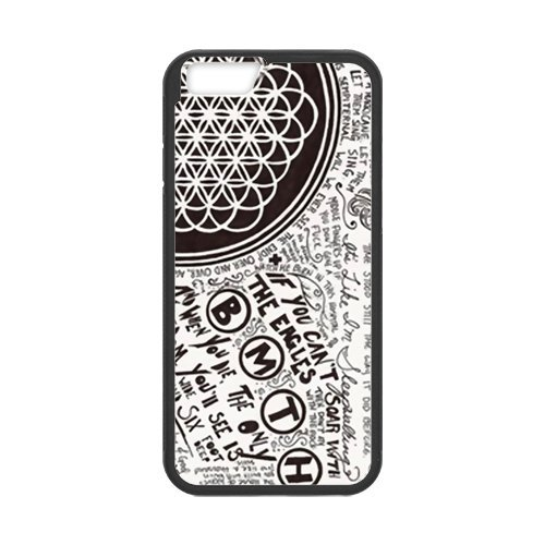 Fayruz- Personalized Protective Hard Textured Rubber Coated Cell Phone Case Cover Compatible with iPhone 6 & iPhone 6S - Bring Me The Horizon F-i5G656