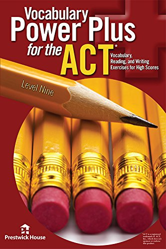 Vocabulary Power Plus for the ACT - Level Nine