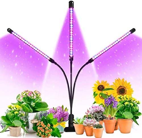 Ankace Tri-head Adjustable Gooseneck LED Grow Lights