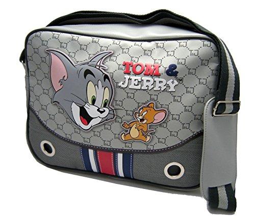 Borsa tracolla Warner Bros Tom and Jerry Donna Grigio