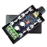 TOOGOO(R) 12V 24V 36V 48V 40A (max) PWM DC Motor Speed Controller Adjustable Variable speed Switch CCM9N Regulator Driver