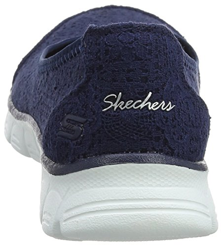 0 Blu Ballerine Navy Donna Beautify Chiusa Flex Skechers Ez 3 Punta qCnw7xR4UH