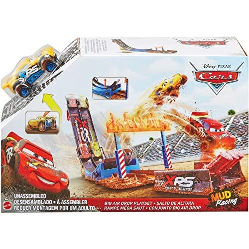 Disney Pixar Cars XRS Mud Racing Big Air Drop Playset