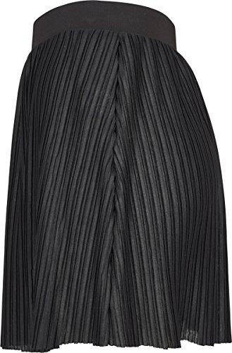 black Pleated Schwarz Gonna Mini Donna Jersey 00007 Classics Urban YHgxFn0