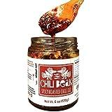 Chili Beak Hot Chili Oil Spicy Chili Crisp - Roasted Siomai Chili Oil Sauce (Original, 6 oz)