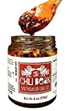 salsa de ajo - Spicy Chili Crisp Hot Chili Oil Sauce with Chili Flakes (Original, 6 oz)