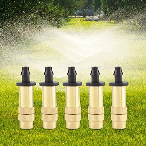 Sprühkopf 4 mm Kunststoff Bewässerung Einstellbar Beschlagen Sprinkler