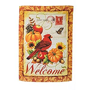 Fall Hospitality Garden Flag Designed by Yerkes