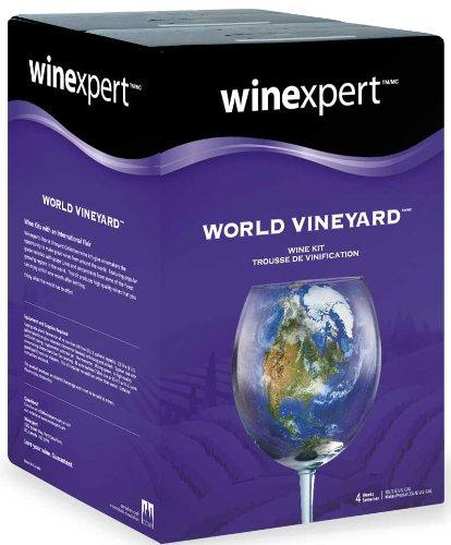 Winexpert World Vineyard Washington Merlot Wine Kit with Grape Skins by Wine Expert World Vineyard