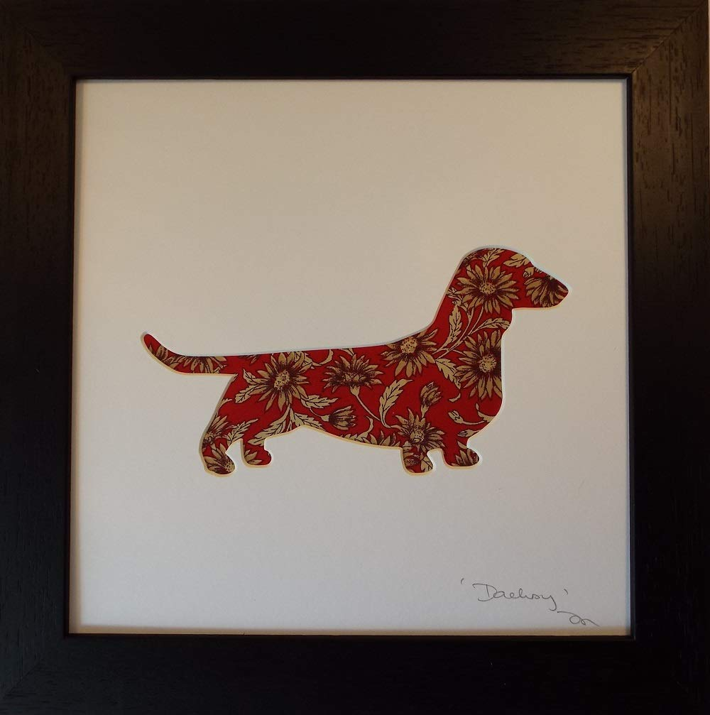 d874937122 Dachshund Gifts and Dachsy Art Print. Sausage dog Lover Must Have Gift Idea  Home décor wall artwork picture dog gift: Amazon.co.uk: Handmade