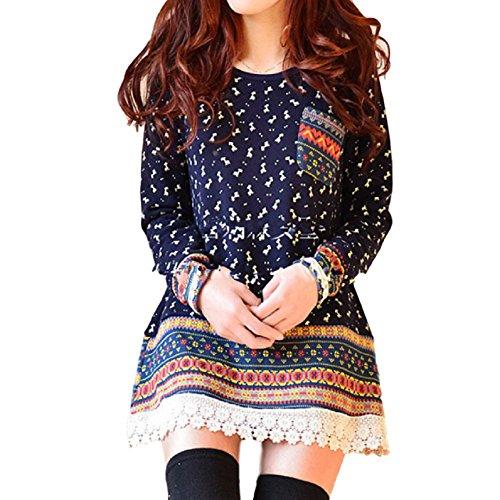 Japanese Gothic Fashion (GK-O Women Mori Girl Loose Pullovers Vintage Lace Hoodies Sweatshirt Hoodie (Asian Size XL))