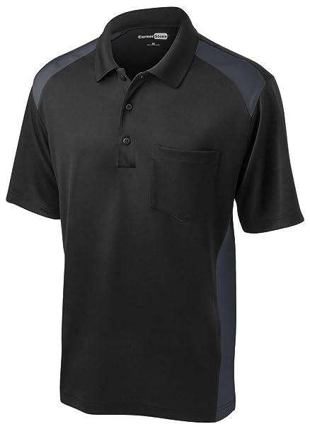 51132f80a9f Cornerstone Men s Moisture Wicking Pocket Polo Shirt at Amazon Men s ...