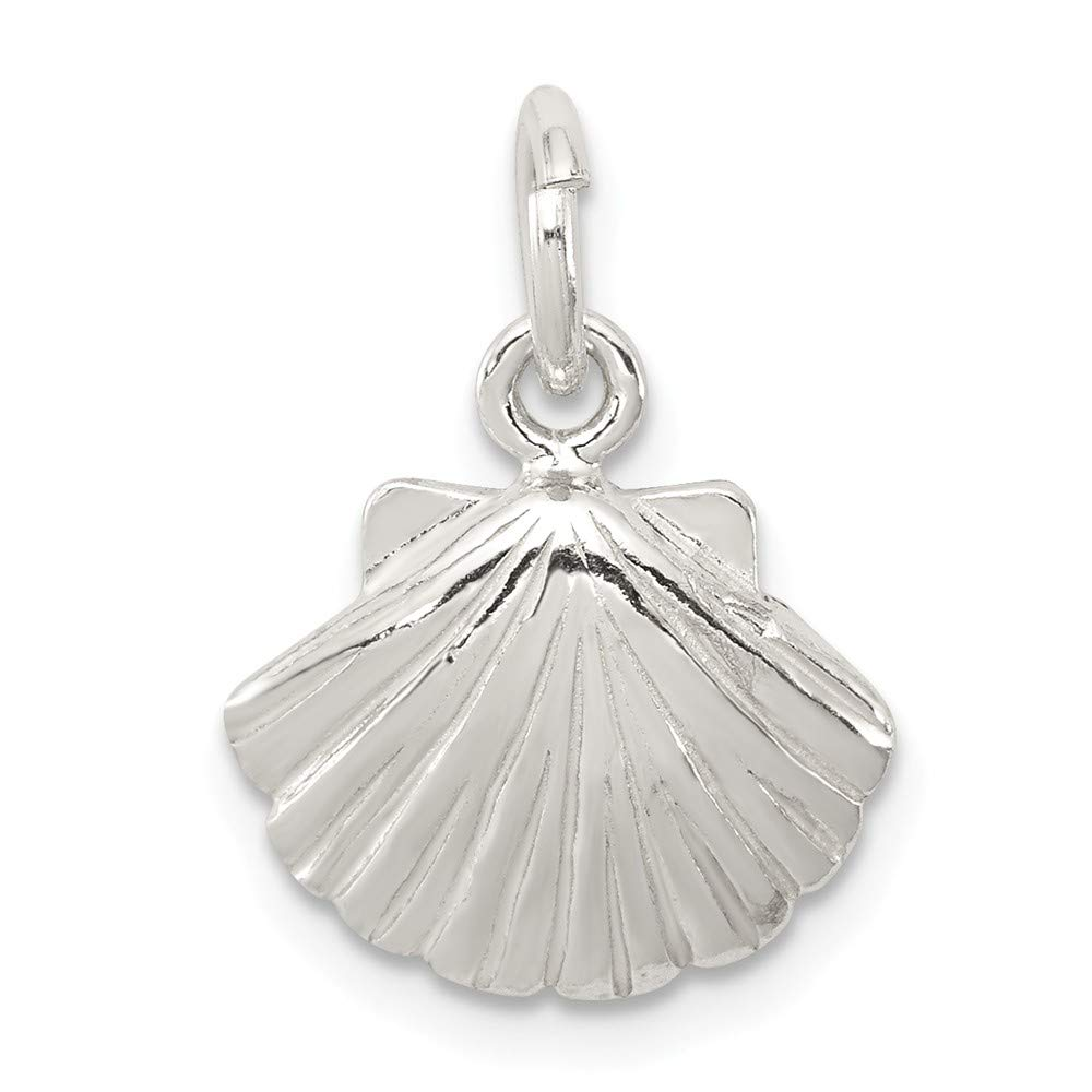 Sterling Silver Shell Charm