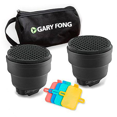 Gary Fong Dramatic Lighting Kit, Includes 2x Speed Snoot, Color Gel Filter Kit and Custom Gear Bag by Gary Fong