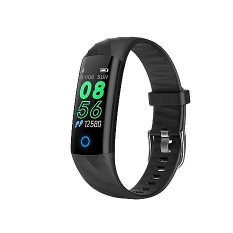 Là Vestmon Pulsera Actividad, S5 Pulsera Inteligente Impermeable IP67, Reloj Inteligente Mujer y Hombre