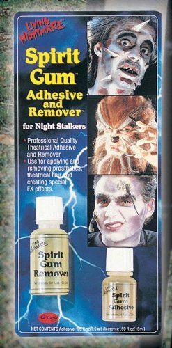 Spirit Gum Adhesive and Remover Costume Makeup]()