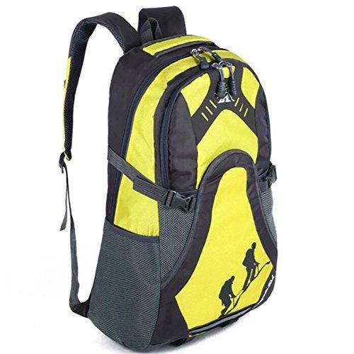 Mochilas bolsos de hombro hombres 50L gran capacidad de recorrido al aire libre
