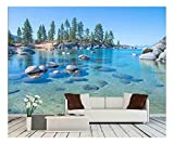 Best Wall Murals - wall26 - Beautiful Blue Clear Water on The Review