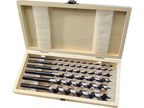 EXTOL PREMIUM 8801290 Auger Drill Bits for Wood Set (6-Piece)