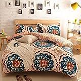 Newrara Home Textile,boho Bedding Set,bohemia Exotic Bedding Set,4pcs Bedding Set,queen