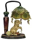 Sterling Home 91-297 Rabbit Under Leaf Table Lamp