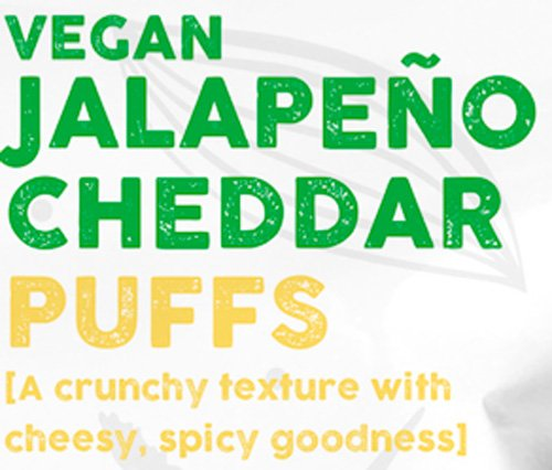 SuperEats High protein Puffs, Jalapeno Cheddar, 3 Ounce (Pack of 12) by SuperEats (Image #3)