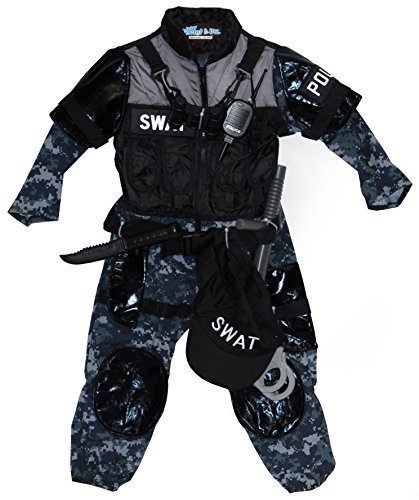 Boy's Police SWAT Team Costume (5-6)