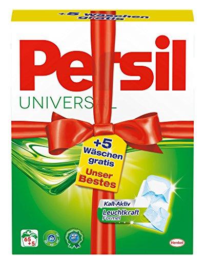 Persil Universal Pulver Unser bestes 65 plus 5 WL, 1er Pack (1 x 70 WL)