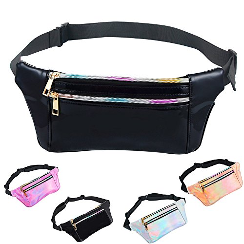 The Costumes Party Fable 2 - iAbler Holographic Fanny Pack for Women