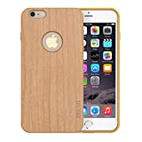 iPhone 6 Bamboo Case, Slicoo Nature Series Bamboo Slim Covering Case for iPhone 6 4.7 inch
