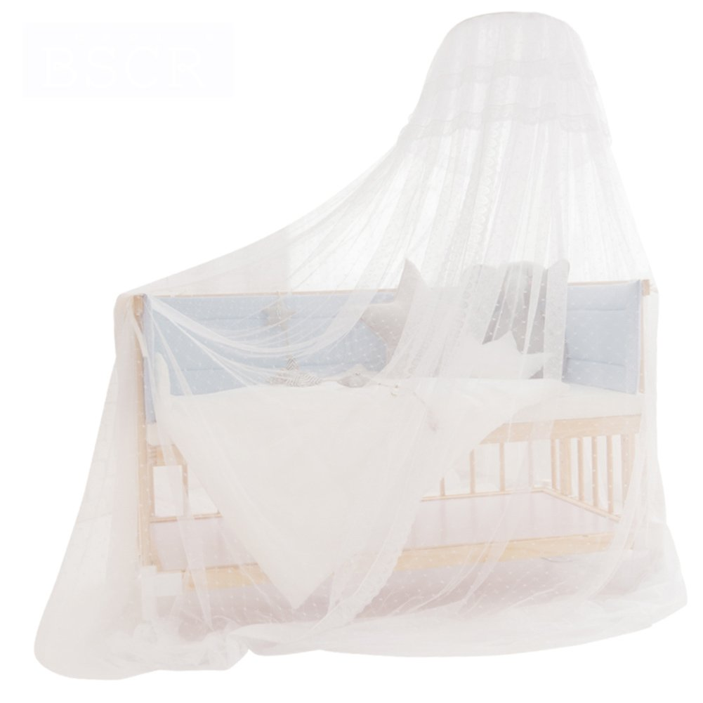 WENZHANG Baby bed mosquito net,Child mosquito folding with bracket bottomless child mosquito net cover keeps away insects & flies camping,Bedding,Patio-A 125-190cm(49-75inch)