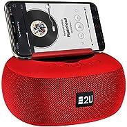 Caixa de Som Bluetooth, Radio, AUX, Cartão SD 8W, Energy2u, Vermelho
