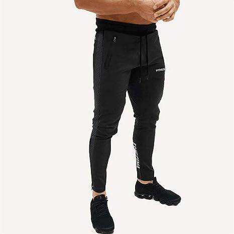 WANGMEILING-Sweatpants Pantalones de chándal for Hombre Pantalones ...