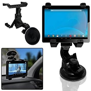 Seluxion-Soporte de coche universal para tableta Carrefour Touch Tablet CT810, Clust CL4C07 7
