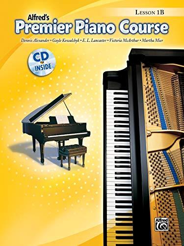 (Premier Piano Course Lesson Book, Bk 1B: Book & CD)