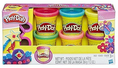 play-doh Sparkle Boxedギフトセット6色など、および2カッター – World Famous Play Doh 。何を作成するか   B0749NQSYL