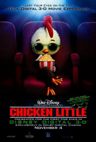 Amazon Com Chicken Little Poster Movie 27 X 40 Inches 69cm X 102cm 2005 Style B Posters Prints