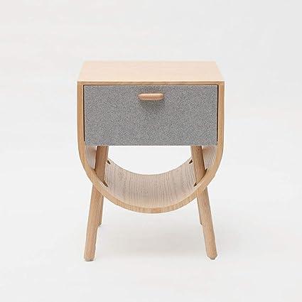 Amazon.com: TTW Floating Bedside Table Solid Wood Bedroom ...