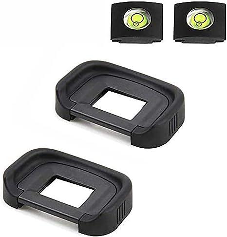 Visor Ocular Ocular de goma EF Negro para Canon EOS 5D2 5D3 60D Cámara