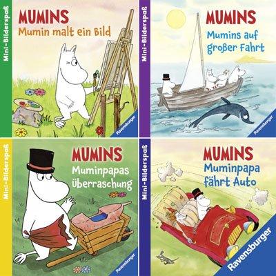 Ravensburger Mini-Bilderspaß 68 - Abenteuer aus dem Mumintal (4er-Set)