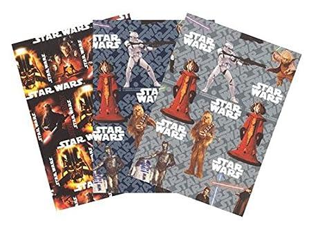 Star wars geschenkpapier