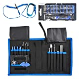 ATPWONZ 76 in 1 Screwdriver Set Magnetic Precision Professional Portable Screwdrivers Tools with Extension Shaft for Household Mobile Cellphone Electronics DIY Devices