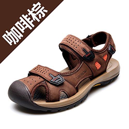Xing Lin Sandalias De Hombre Resorte Exterior En La Playa Del Hombre Zapatos Zapatos De Hombre Casual Zapatos De Hombre Sandalias De Hombre Zapatos De Hombre De Línea Brown