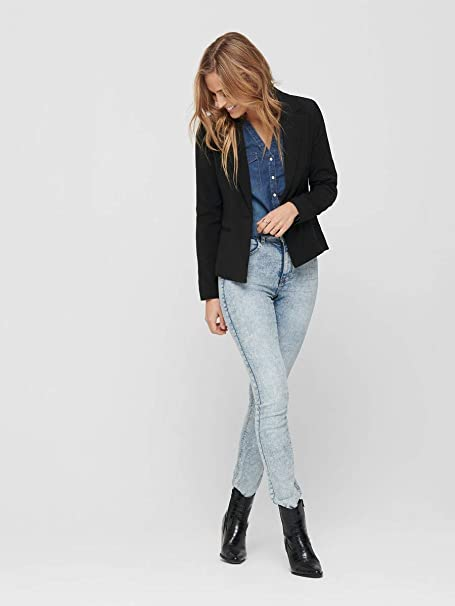 Only Onlselma-Astrid L//S Fitted Blazer CC TLR Femme